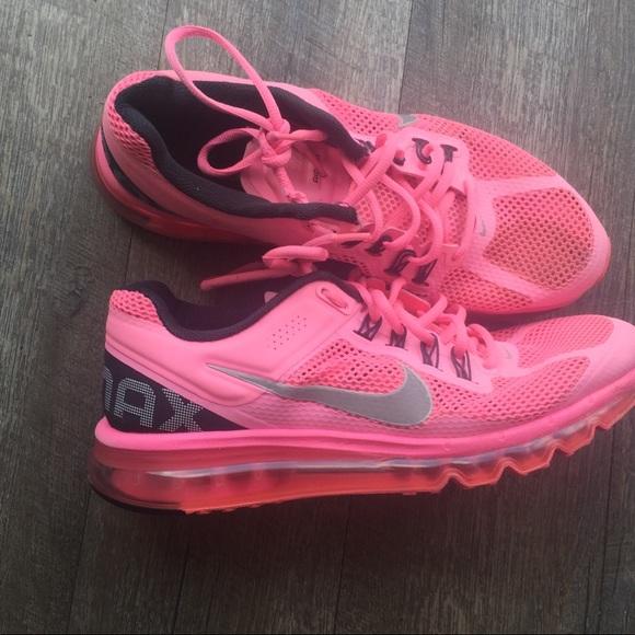Nike Air Max Pink Size 1 Gel Bottoms
